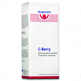 Burgerstein C-Berry  30 chewing tablets  **VEGETARIAN**