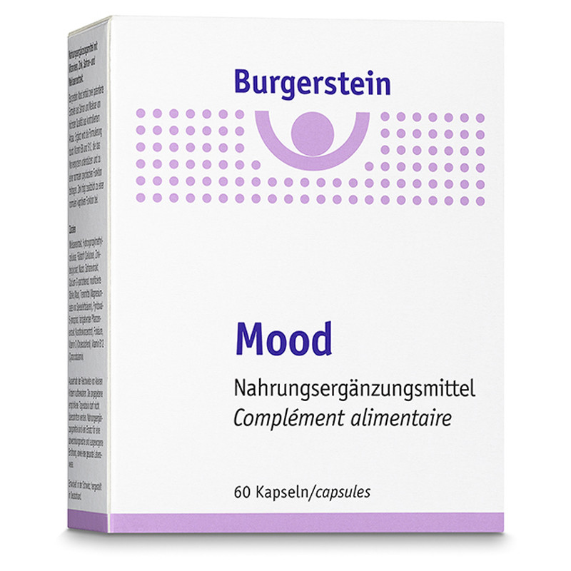 Burgerstein Mood 60 tablets  **VEGETARIAN**