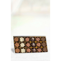 Star-shaped Pralines in...